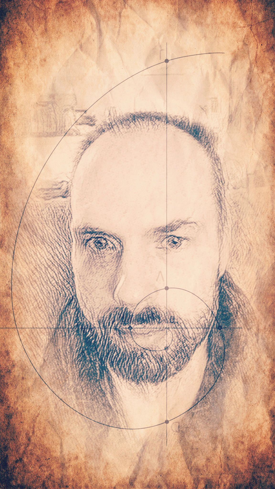 Another selfie of me, this filter also looks like pencil but in an ancient parchment kind of way.