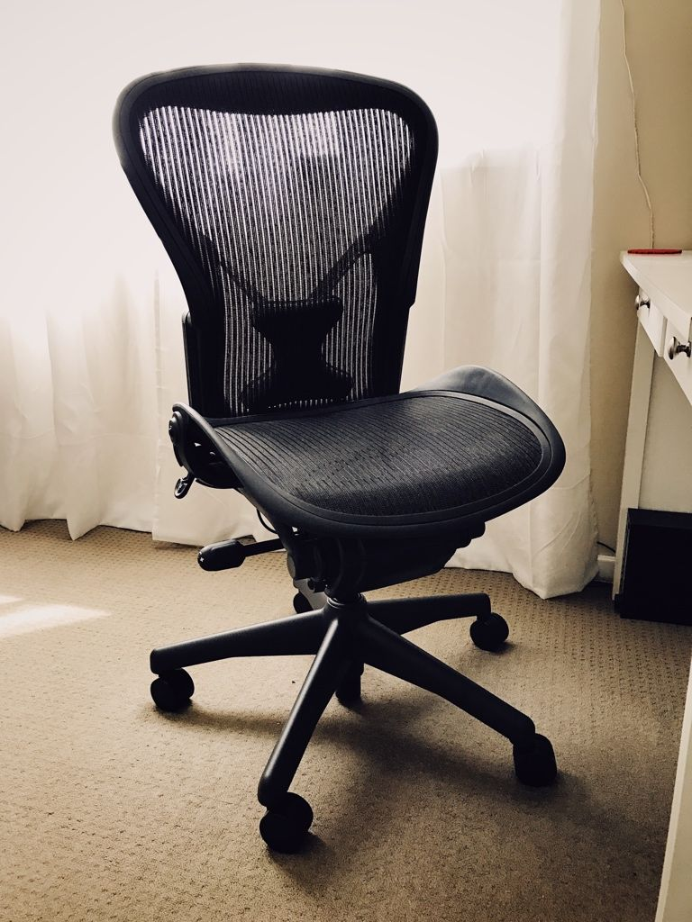 New chair! \o/ #comfort